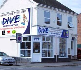 Click to see a location map for DIVE Northampton